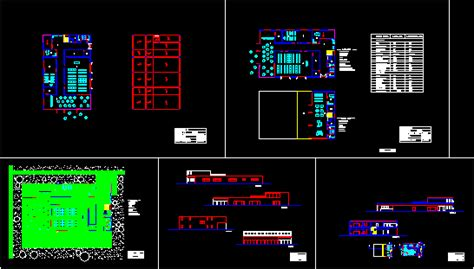 day care center  dwg plan  autocad designscad