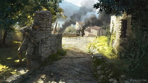 stunning  battlefield  leaked concept arts possibly