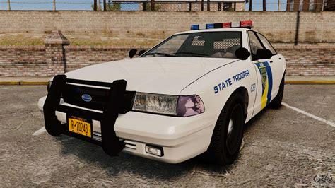 Gta V Vapid State Police Cruiser [els] For Gta 4