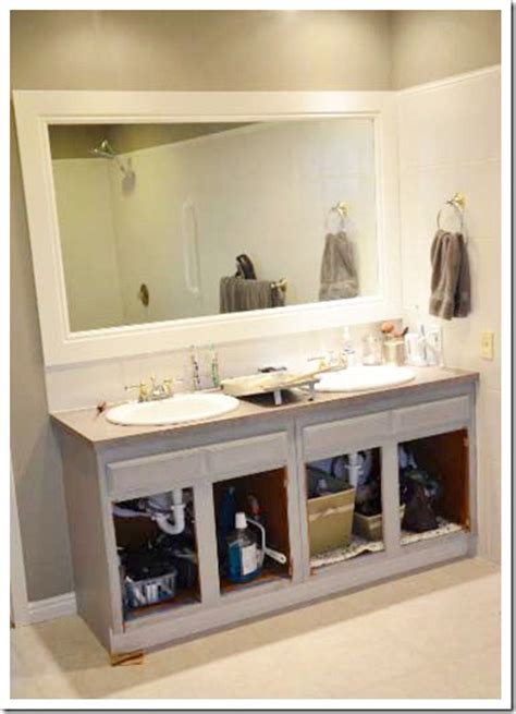 painted bathroom cabinets ideas paint your cabinets the idea room