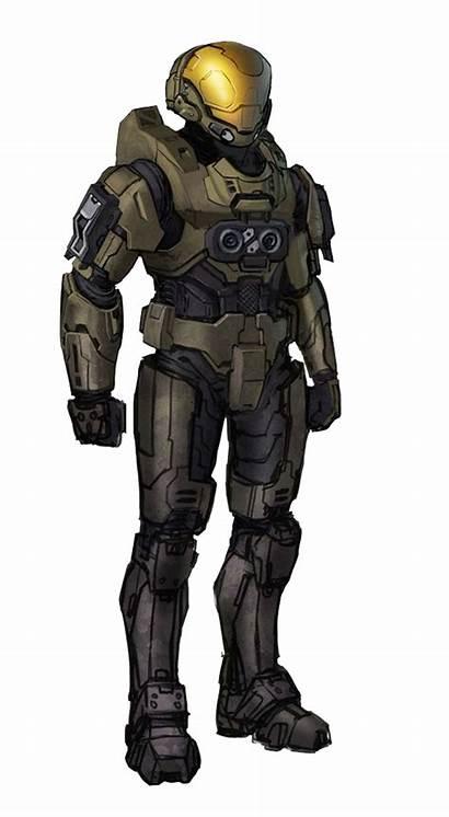 Eva Halo Armor Armour Mjolnir Skin Concept