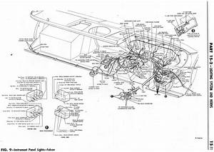 1964 Ford Falcon Wiring Diagram For Instrument Panel Light  59541