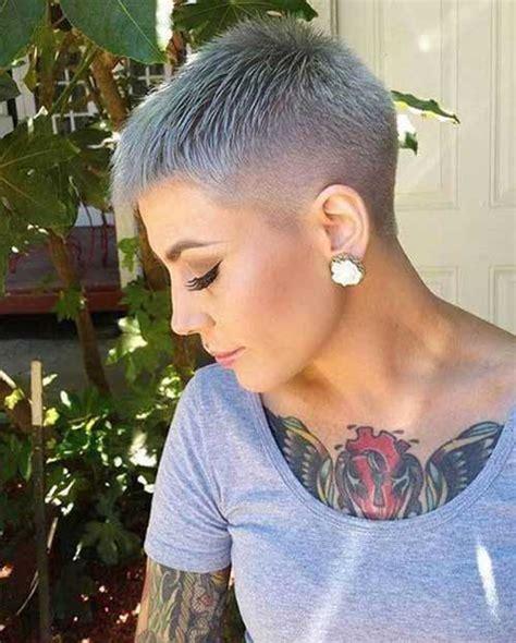 super short haircuts  captivating ladies