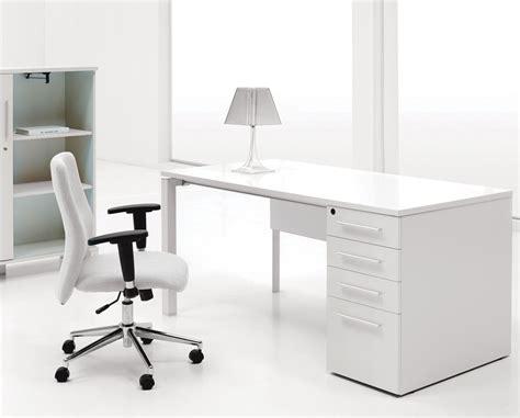 white desk for 30 inspirational home office desks