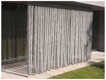 Curtain Mesh Curtains Steel Stainless Metal Scale