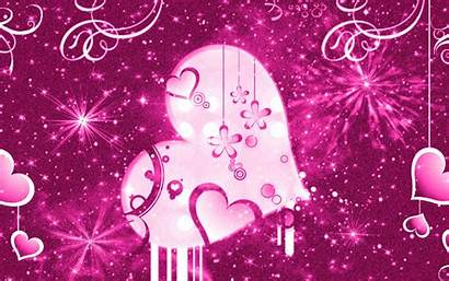Girly Pink Backgrounds Background Patterns Floral