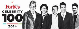2014 Celebrity 100 - Forbes India Magazine