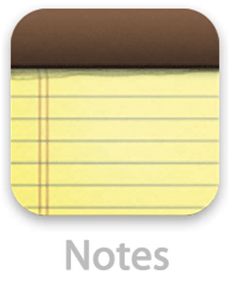 iphone notes app image gallery iphone notes app icon