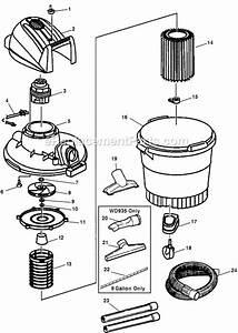 Ridgid Wd935 Parts List And Diagram   Ereplacementparts Com