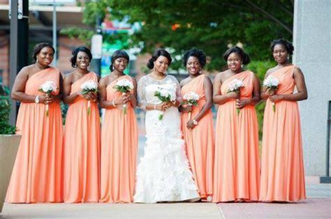 Nigerian Bridesmaid Dresses   25 Super stylish looks!
