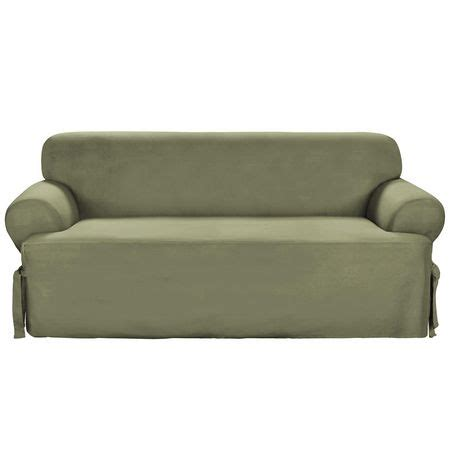Sure Fit Sofa Covers Canada by Sure Fit Cotton Duck Sofa Slipcover Walmart Canada