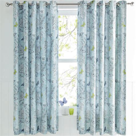 dreams drapes curtains dreams drapes quot aviana quot butterfly eyelet curtains in duck