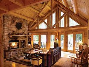 log cabin interior design living room small cabin interior With interior decorating a log cabin