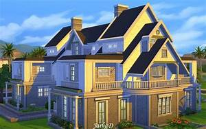 JarkaD Sims 4: Family House No 4 • Sims 4 Downloads