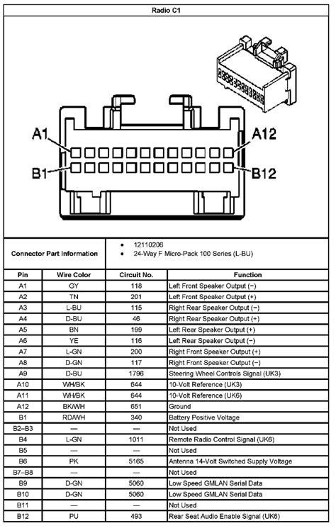 delco radio wiring diagram 2005 silverado delco free
