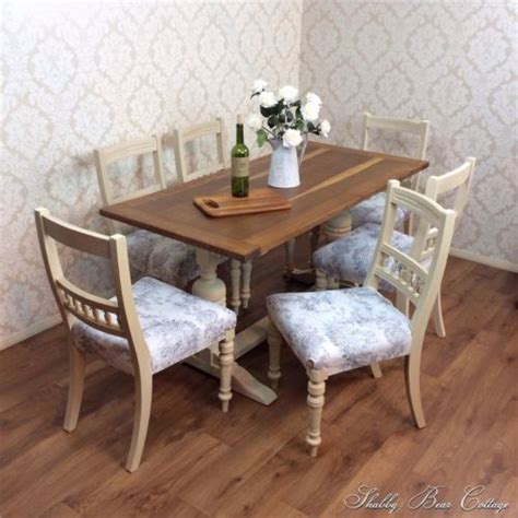 shabby chic dining table leicester pinterest the world s catalog of ideas