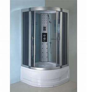 Cabine De Douche Hydromassante : combin baignoire douche abaco 90 90 215 cm cabine de ~ Dailycaller-alerts.com Idées de Décoration