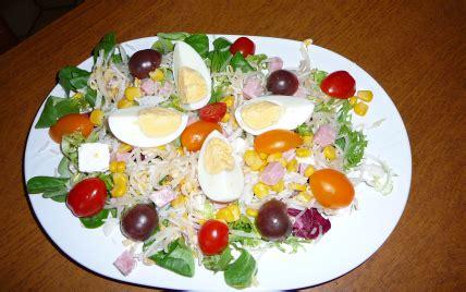 recette de cuisine minceur recette ma salade minceur notée 4 5 5
