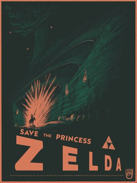 Legend Of Zelda Propaganda Posters The Mary Sue
