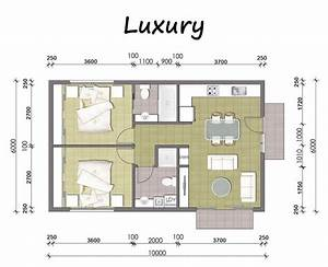 2 bedroom granny flat designs With plan for two bedroom flat