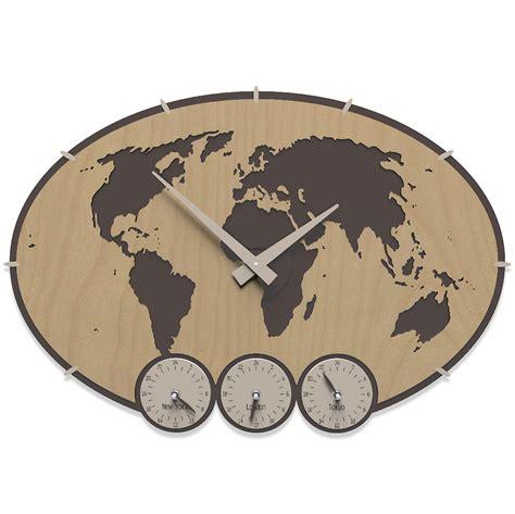 pendule de cuisine murale horloge murale fuseau horaire greenwich