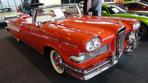 1958 Edsel Pacer Convertible - Exterior and Interior ...