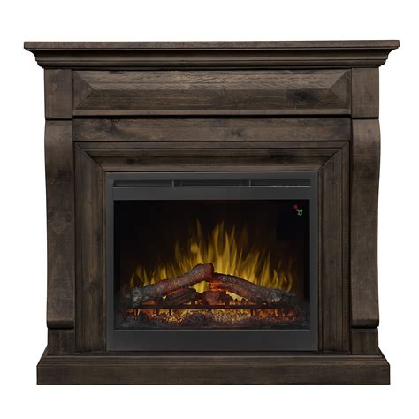 47 Dimplex Samuel Mantel Electric Fireplace In Weathered Grey