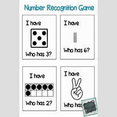 I Have Who Has? Number Recognition Game! Great For Whole Class Or Small Group Instruction