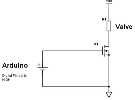 Arduino Using Mosfet Switch Electrical Engineering