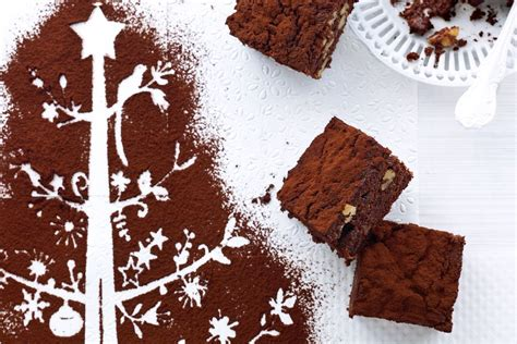 fruit mince brownies recipes delicious com au