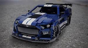 Lego Enthusiast Builds A 2020 Mustang Shelby GT500 Scale Model | Carscoops