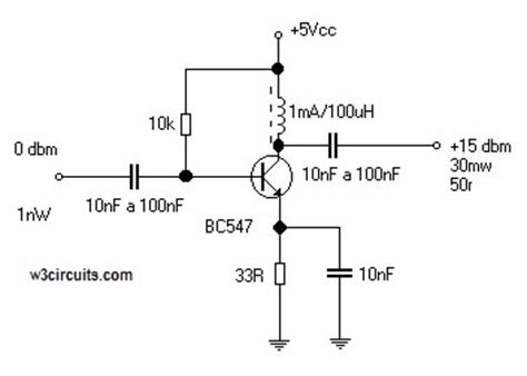 The Simplest Audio Amplifier Circuit Diagram Wiring