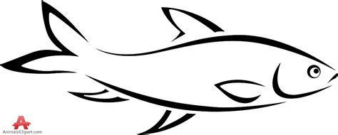 fish outline clipart  clipground