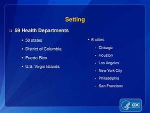 Health Department Funding Allocations Under Program ...