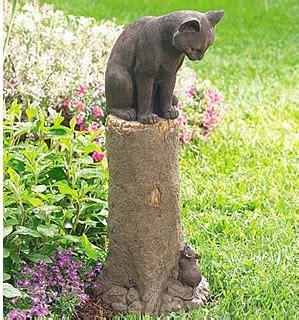 cat garden statue 31 cat garden statues that will beautify your garden