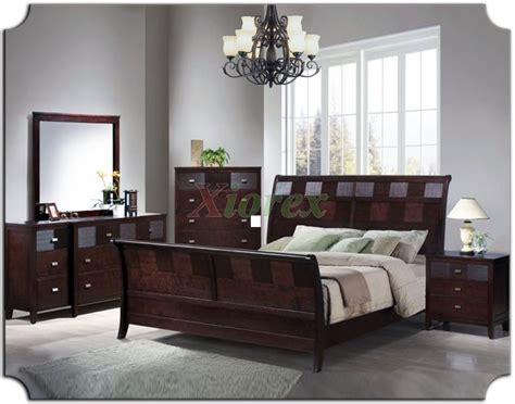 Sleigh Bedroom Furniture Set 131