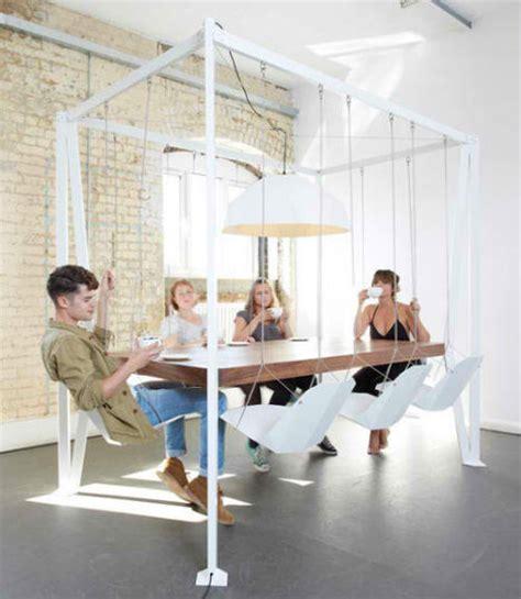 swinging times  stylish fun indoor swings urbanist