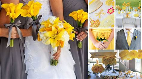 stunning yellow and gray wedding decorations ideas styles ideas 2018 sperr us