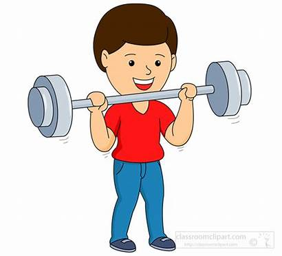 Lifting Weight Boy Clipart Weightlifting Weights Lift