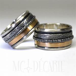 his and hers 2 spinner ring set with 10k gold wedding ring With spinner wedding ring sets