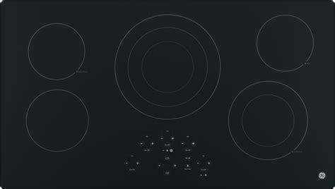 ge jpdjbb   smoothtop electric cooktop   radiant elements center tri ring burner