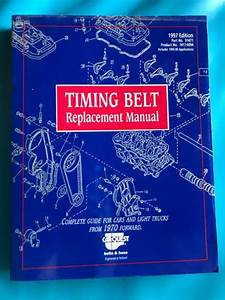 Timing Belt Replacement Manual 1970