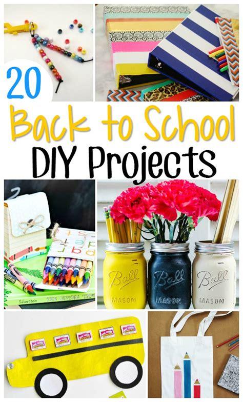 adorable   school crafts diy school crafts
