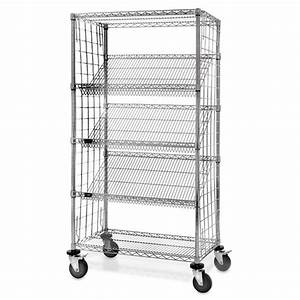 Slant Rack Wire Shelving