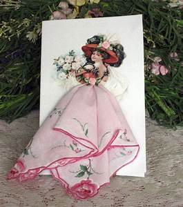 281 Best Vintage Hanky Cards  U0026 Crafts Images On Pinterest