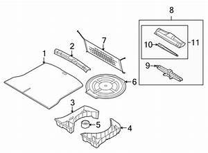 Lincoln Mkx Liftgate Trim Scuff Plate  Rear  Lower   W