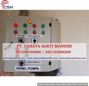 Control Panel - Hydrant Pump Specialist