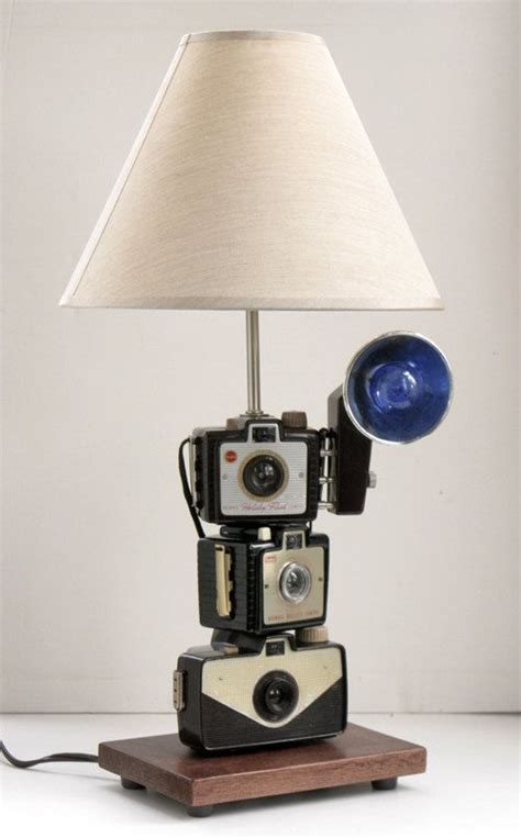 Camera Vintage Table Lamp