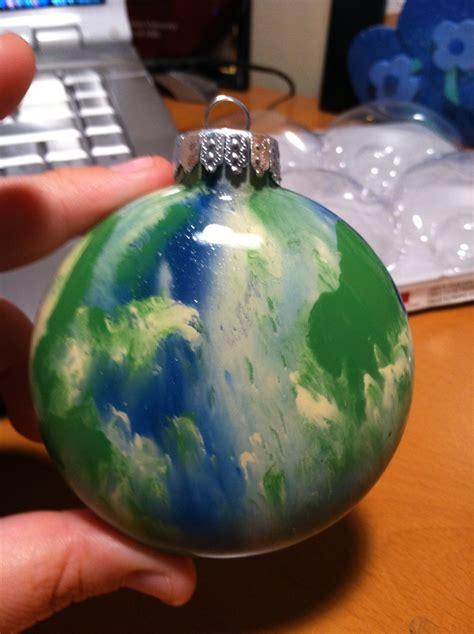 acrylic paint ornament boule noel christmas ornament