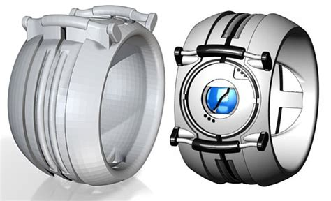 Portal Personality Core Rings Finally Give Wheatley The Finger